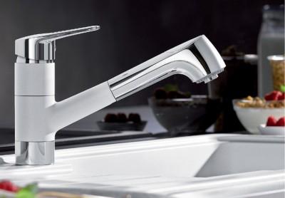 robinet Blanco Notis-S Crom/Alb